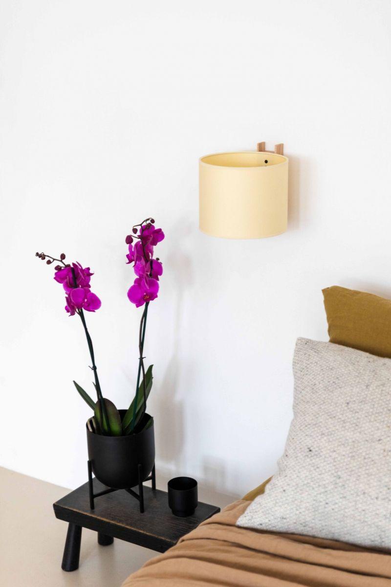 orchidée dans la chambre à coucher