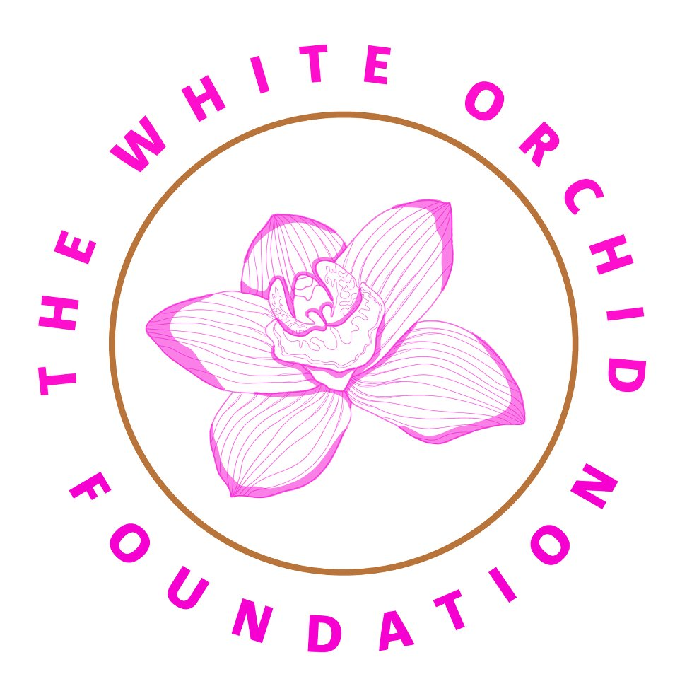 Logo the white orchid foundations